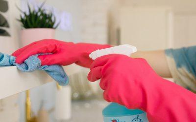 7 schoonmaaktips om COVID19 buiten de deur te houden